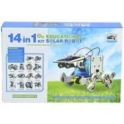 MK 14 in 1 Rechargable Solar Powered Robot Kit Toy For Children