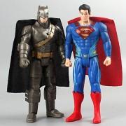2pc/Set Avengers Figures Super Hero Batman Superman Action Figure Toys 15cm