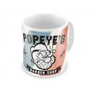 Popeye´s Barber Shop Coffee Mug, Coffee Mug