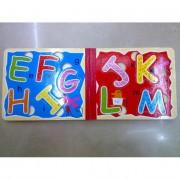 Fa könyv, színes betűkkel