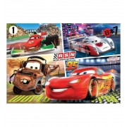 Puzzle 60 Cars Rayo Mqueen Mate Francesco. - Clementoni