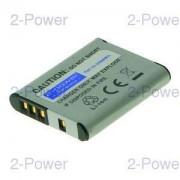 2-Power Digitalkamera Batteri Sony 3.7v 750mAh (NP-BK1)