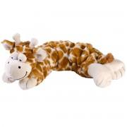 Merkloos Hotpack magnetron warmte knuffel giraf geel 50 cm