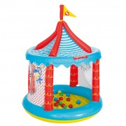 Bestway Uppblåsbart Cirkus-bollhav Fisher Price 104x137 cm 93505