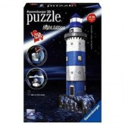 Puzzle 3D Ravensburger Lighthouse at Night 216 Pieces