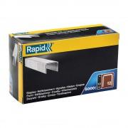 Capse Rapid 12 10 sarma plata galvanizata pentru tapiterie, High Performance, 5000 capse cutie carton 40100519