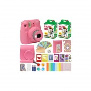 Fujifilm Instax Mini 9 - Cámara instantánea con funda d...
