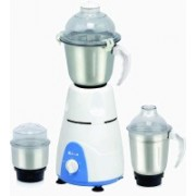 Rico MG123 Mixer Grinder with Iron Free rs 820, MG 123 ( 2 Year Warranty) 550 W Mixer Grinder(White, 3 Jars)