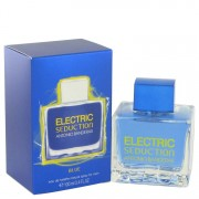 Antonio Banderas Electric Seduction Blue Eau De Toilette Spray 3.4 oz / 100.55 mL Men's Fragrance 514844