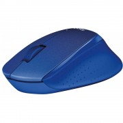 Logitech M330 Silent Plus Wireless mouse Blue 910-004910