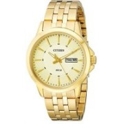 Citizen champagne 17109 Citizen Men's BF2013-56P Gold-Tone Stainless Steel Bracelet Watch Watch - For Men