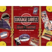 Golden Age of Transport: 20 Vintage Luggage Label Stickers