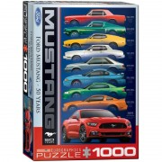 Eurographics Puzzle 1000 piese Ford Mustang 50 Years