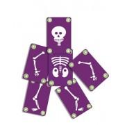 DJECO Gra karciana Bogoss - ludzkie szkielety, świeci w ciemności, DJ05160