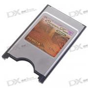 Adaptateur De Lecteur De Carte Compact CF Pour Ordinateur Portable PCMCIA - Argent + Noir