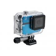 EZVIZ S1 kék akció sport kalandkamera - Vízálló, porvédett (IP67) házban, Wifi, beépített GPS, G-Szenzor, Bluetooth 4.0, 152°-os nagy látószögű lencse, MicroSD kártya foglalattal (64GB-ig), 40méterig vízálló, 1080p (Full HD) 60kép mp
