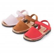 Pisamonas Sandálias Criança Menorquinas Nobuck Velcro