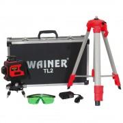 Nivela laser 12 linii 360 grade WAINER TL2
