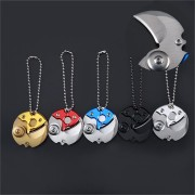 Portable Mini Foldable Stianless Steel Blade Keychain Pocket Outdoor Military Survival Key Ring