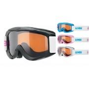 schi ochelari Uvex SNOWY PRO SET, polarwhite / negru / iceblue / roz