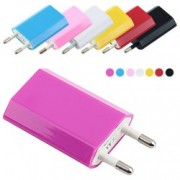 USB nabíječka barevná, Barva Bílá