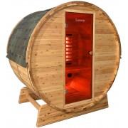 Luxway Bastutunna i Cederträ med infraröd värme