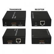 Splitter+Extender 1X1 HDMI sobre UTP 50mt X-Case HDMISPEX1X1