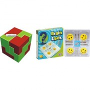 Virgo Toys I Qube Puzzle and Brain Lock (Combo)