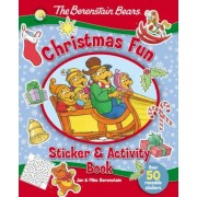 The Berenstain Bears Christmas Fun Sticker and Activity Book, Paperback