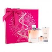 Lancôme La Vie Est Belle confezione regalo eau de parfum 75 ml + eau de parfum 4 ml + lozione corpo 50 ml donna