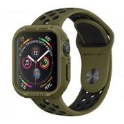 Spigen SGP Rugged Armor Apple Watch S4/S5 40mm Olive Green tok, szíj nélkül