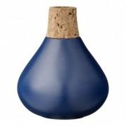 Vaza Bleu, Ceramica/Pluta, Ø10xH12 cm