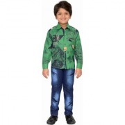 AJ Dezines Kids Party Wear Shirt and Jeans Clothing Set for Boys