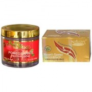 NATURE ESSENCE Gold Bleach 200gm and Pink Root Pomegranate Butter Cream 100gm Pack of 2