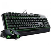 Геймърски комплект клавиатура с мишка cooler master devastator ii green, cm-key-devastator2-gn