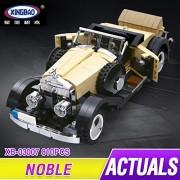 Generic XingBao 03007 Block 810Pcs Creative MOC Technic Series The Rolls-Royce Noble Set Educational Building Blocks Bricks Toy Model