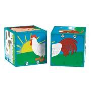 Small World Toys Neurosmith- Magic Sound Blocks - Farm Animals