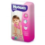 Huggies - Scutece-chilotel Pants Mega pack 4, Girl, 9-14 kg, 52 buc