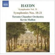 J. Haydn - Symphonies No.18-21 (0747313265725) (1 CD)