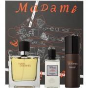 Hermès Terre d'Hermès lote de regalo XVIII. perfume 75 ml + loción after shave 40 ml + espuma de afeitar 50 ml