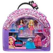 Barbie in Rock N Royals Doll and Vinyl Bag Gift Set