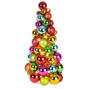 Colourful LED skittles ball Cone