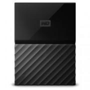 "3TB Western Digital MyPassport, външен, 2.5""(6.35cm), USB 3.0, черен"