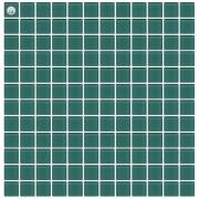 Maxwhite L23 Mozaika skleněná zelená 29,7x29,7cm sklo