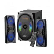 Astrum MS500 2.1 multimédia hangfal szett távirányítóval Bluetooth/FM/USB/kártyaolvasó/equalizer 120W