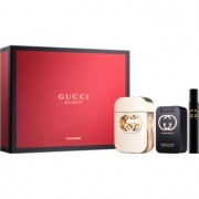 Gucci Guilty coffret I. Eau de Toilette 75 ml + leite corporal 100 ml + Eau de Toilette 7,4 ml