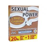 Ampolas Sexual Power + Pau de Cabinda (5 + 1 Un)