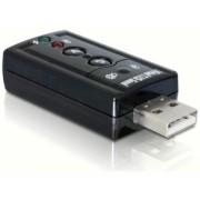 DeLock Sound Adapter Virtual 7.1 USB2.0 61645