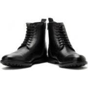 Clarks Glenmore Cap Boots For Men(Black)