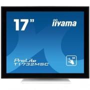 Monitor iiyama T1732MSC-W1X, 17'', LCD, DVI, USB, kapacit., biely